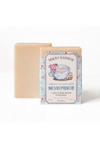 """Мыло """"Молочное"""" с цветочным медом и ванилью, 145 г Клеона"""