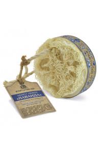 Мыло Лаванда с люфой, 130 г Клеона